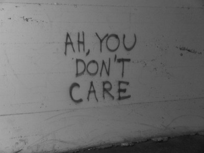If someone doesn't care about you…