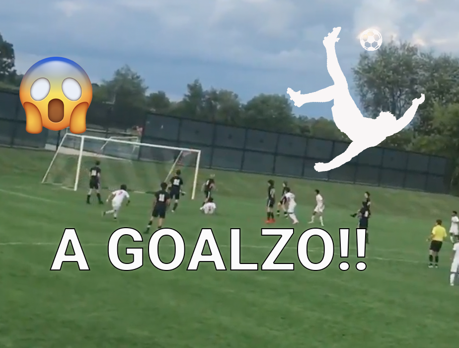 Watch this GOALAZO by High Schooler Alhusain Yahya